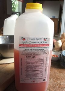 apple cranberry cider